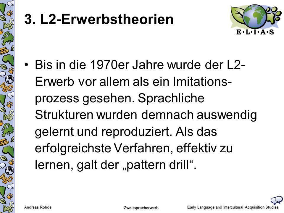3. L2-Erwerbstheorien