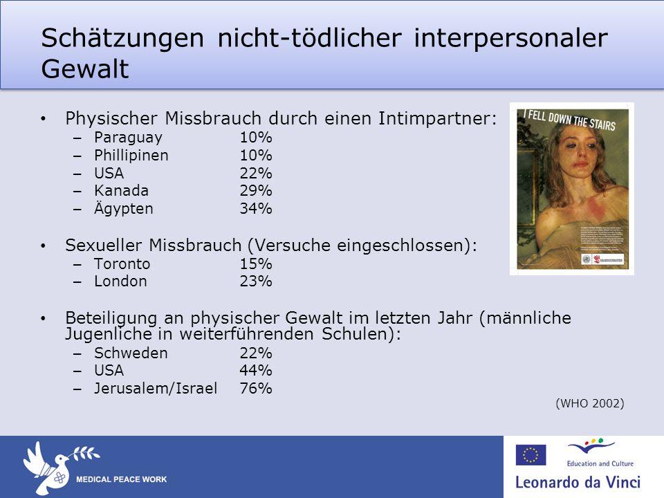 Schätzungen nicht-tödlicher interpersonaler Gewalt