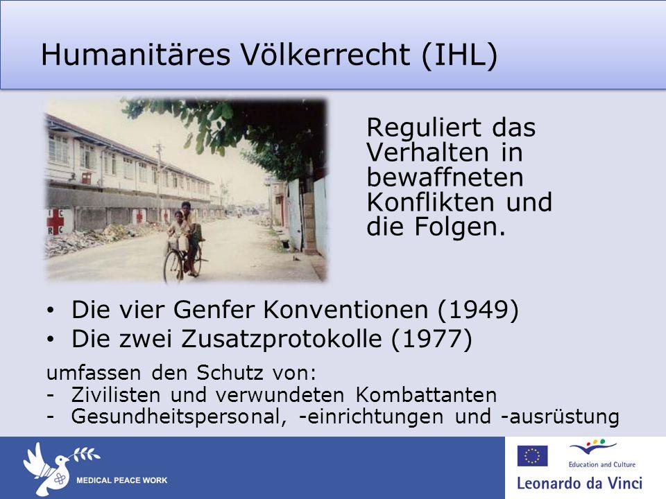 Humanitäres Völkerrecht (IHL)