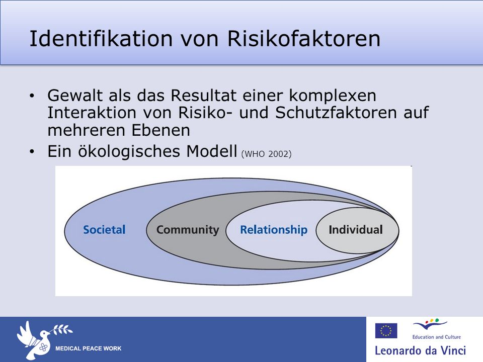 Identifikation von Risikofaktoren