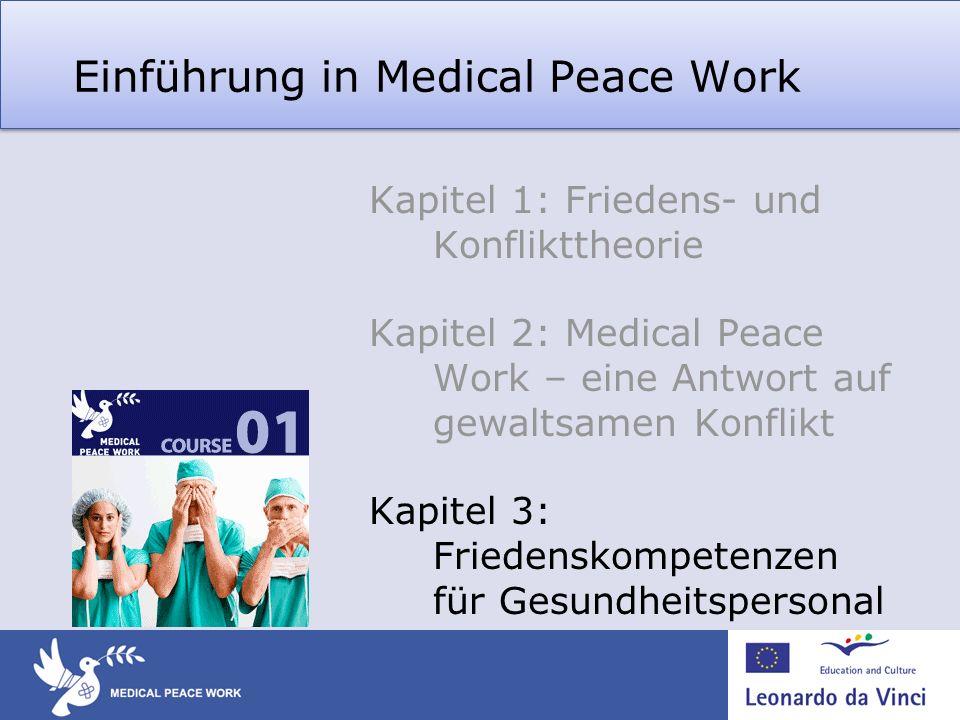 Einführung in Medical Peace Work