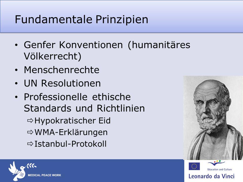 Fundamentale Prinzipien
