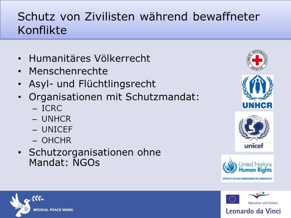 Schutz von Zivilisten während bewaffneter Konflikte
