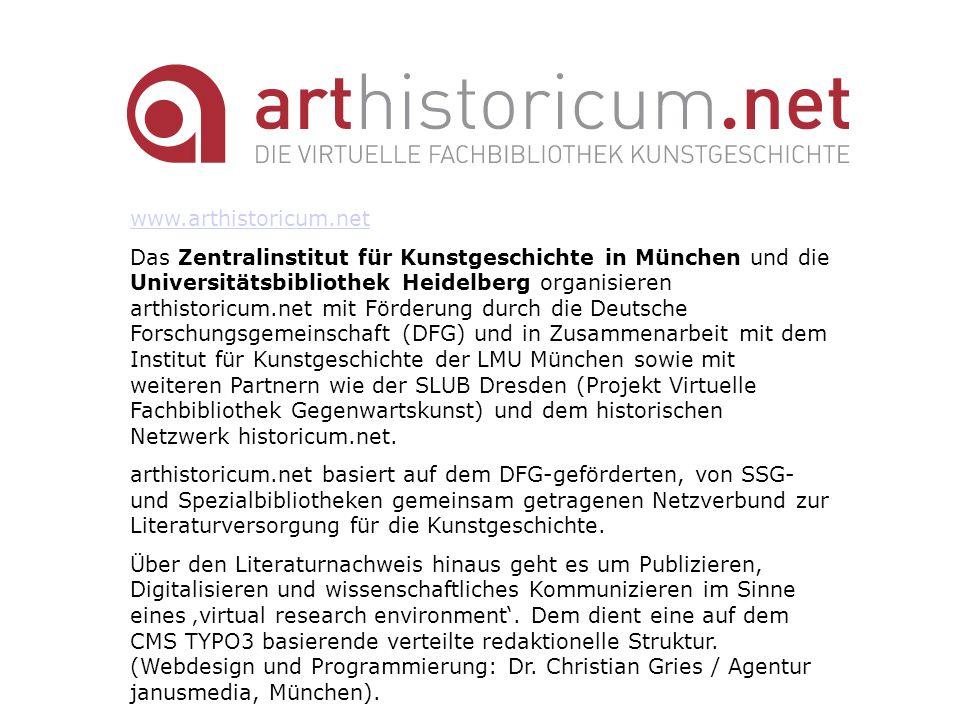 www.arthistoricum.net
