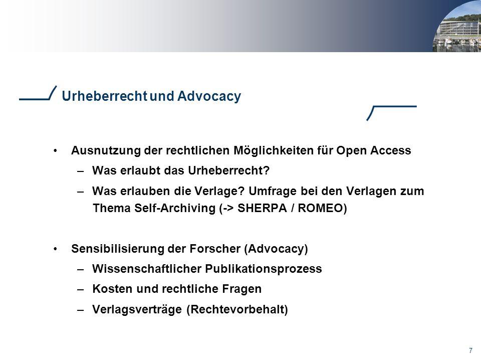 Urheberrecht und Advocacy
