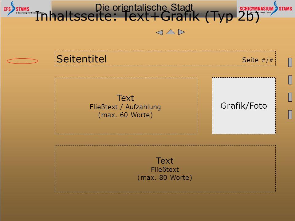 Inhaltsseite: Text+Grafik (Typ 2b)