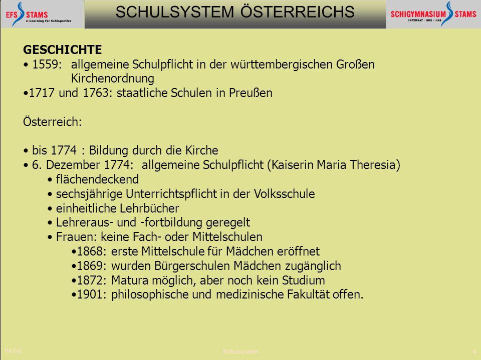 1717 und 1763: staatliche Schulen in Preußen Österreich: