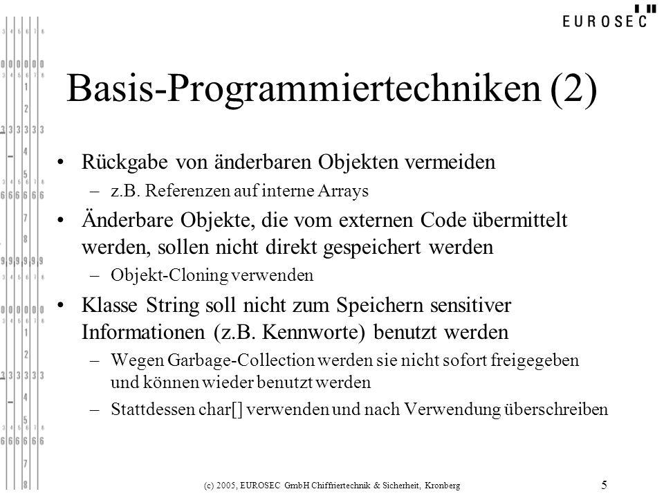 Basis-Programmiertechniken (2)