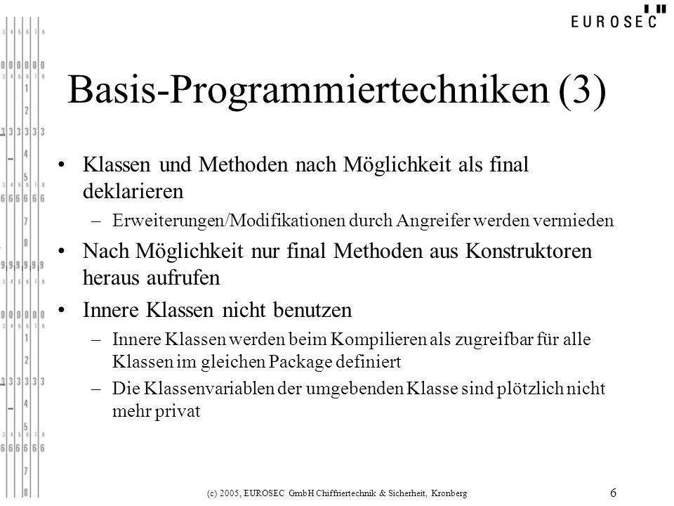 Basis-Programmiertechniken (3)