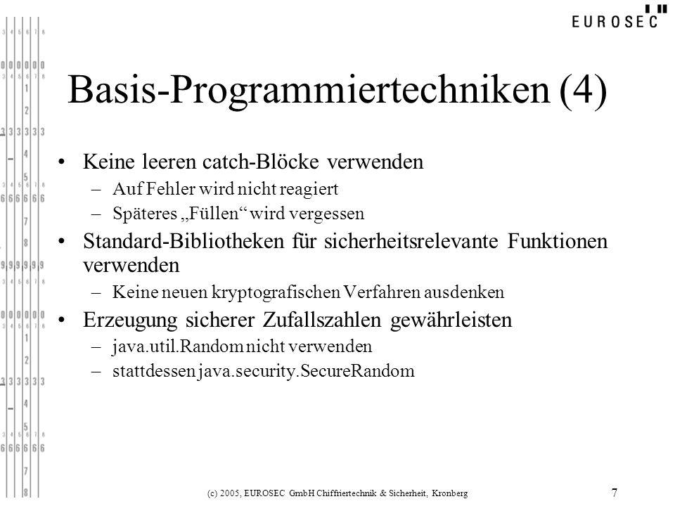 Basis-Programmiertechniken (4)