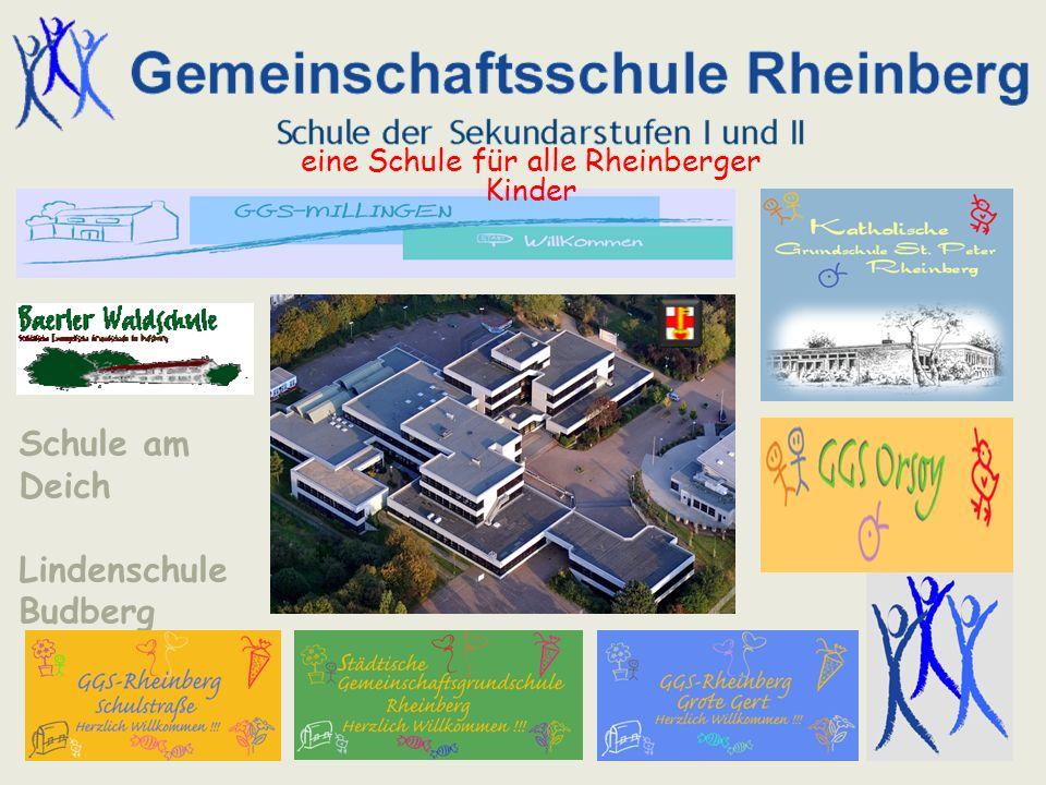 eine Schule für alle Rheinberger Kinder