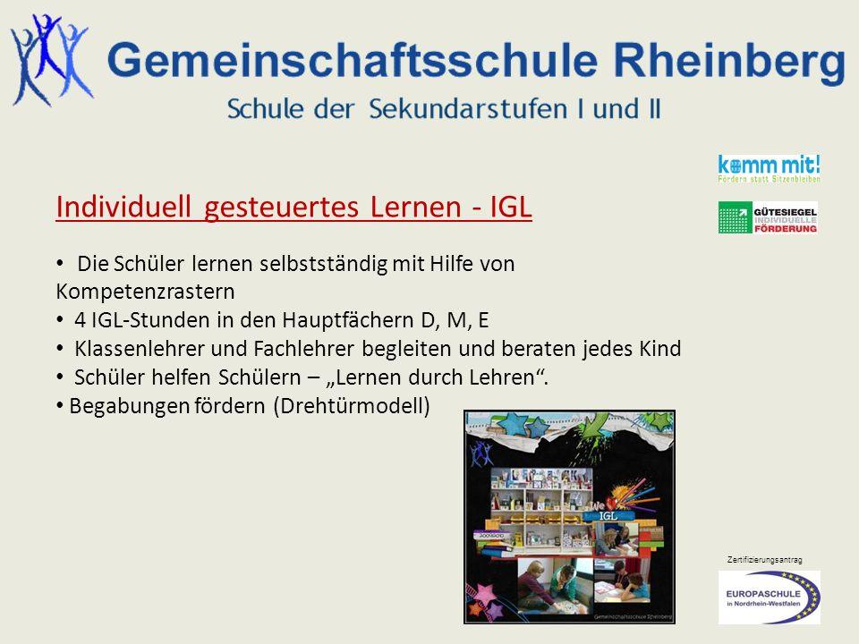 Individuell gesteuertes Lernen - IGL