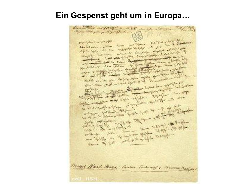 Ein Gespenst geht um in Europa…