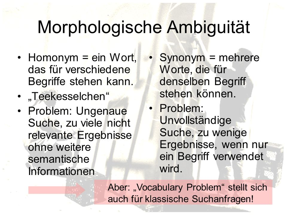 Morphologische Ambiguität