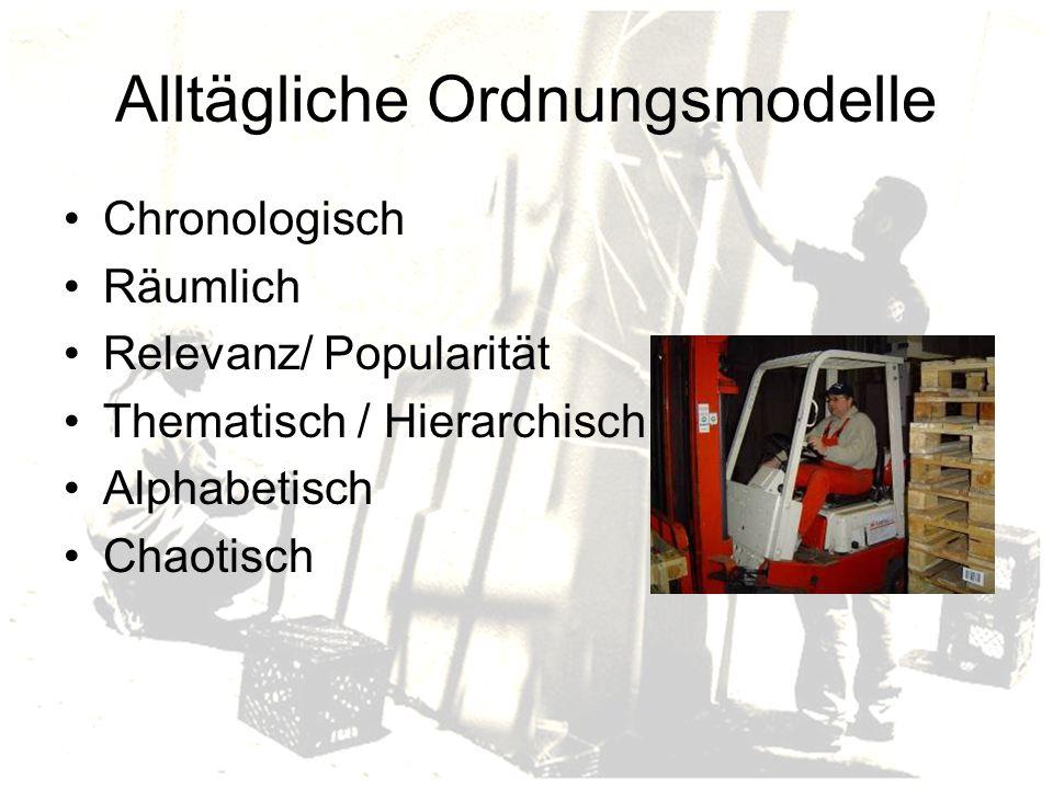 Alltägliche Ordnungsmodelle