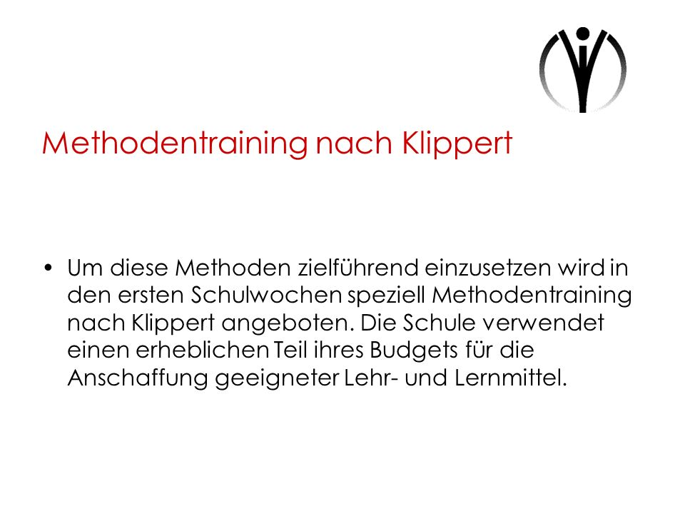 Methodentraining nach Klippert