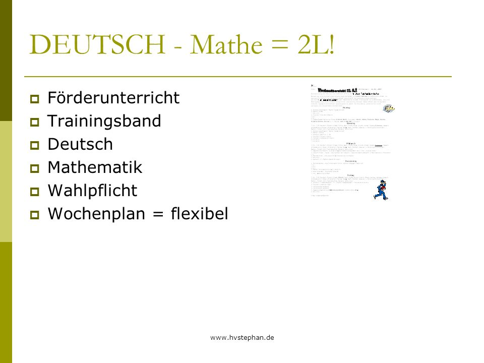 DEUTSCH - Mathe = 2L! Förderunterricht Trainingsband Deutsch
