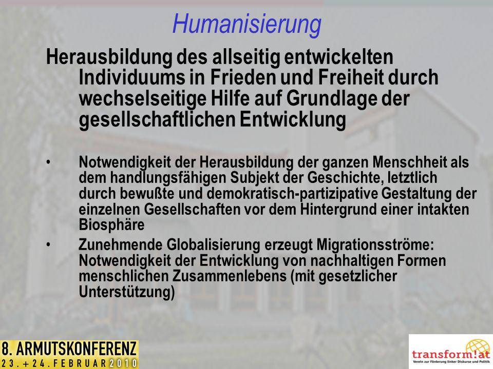 Humanisierung