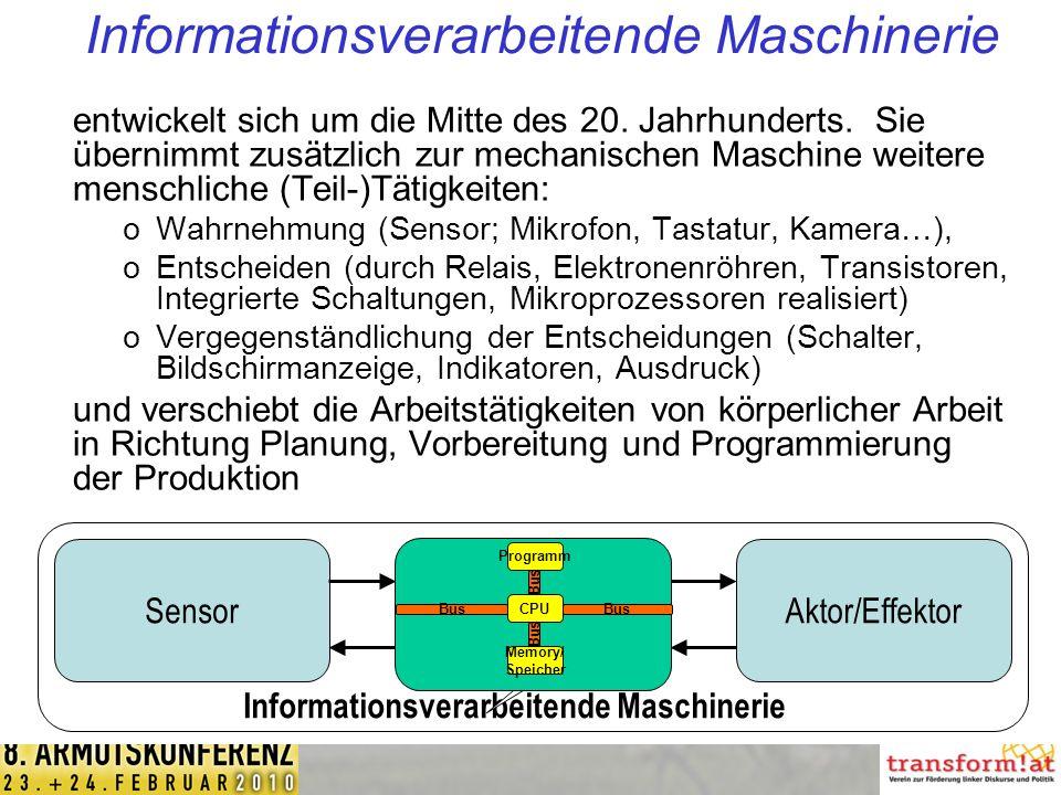 Informationsverarbeitende Maschinerie