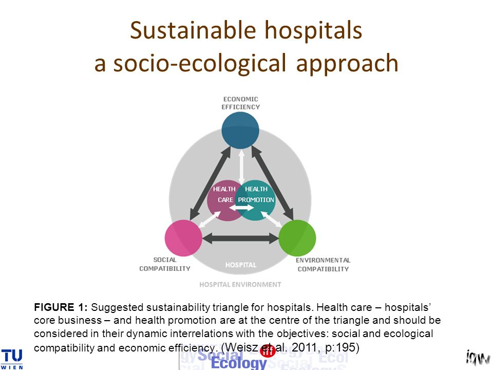 Sustainable hospitals a socio-ecological approach