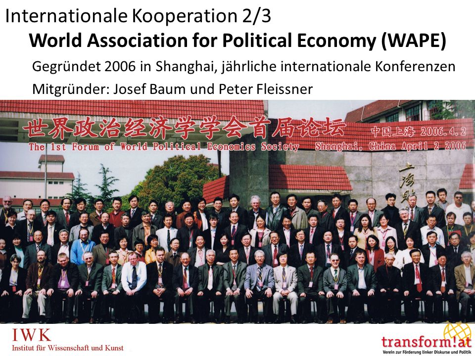 World Association for Political Economy (WAPE)