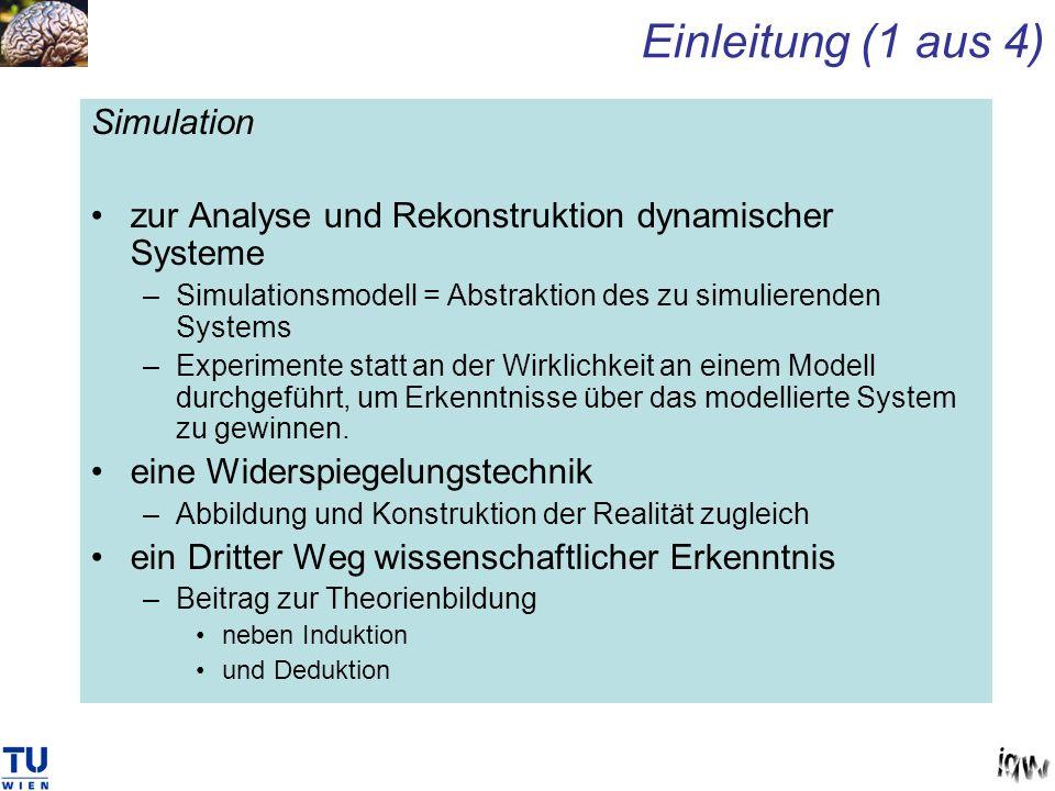 Einleitung (1 aus 4) Simulation