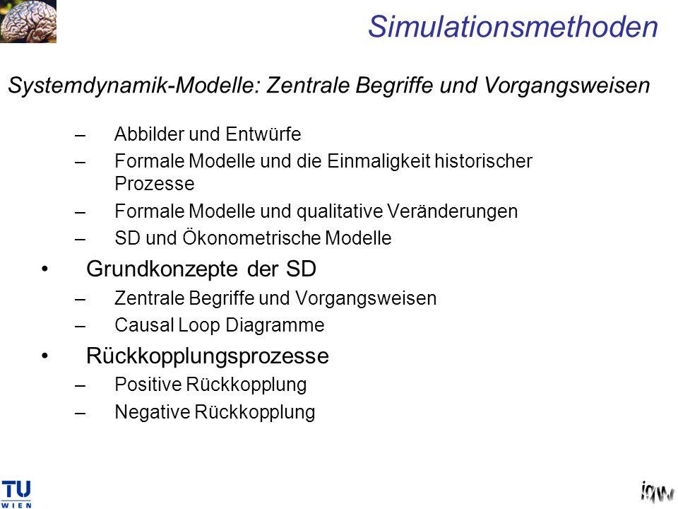 Systemdynamik-Modelle: Zentrale Begriffe und Vorgangsweisen
