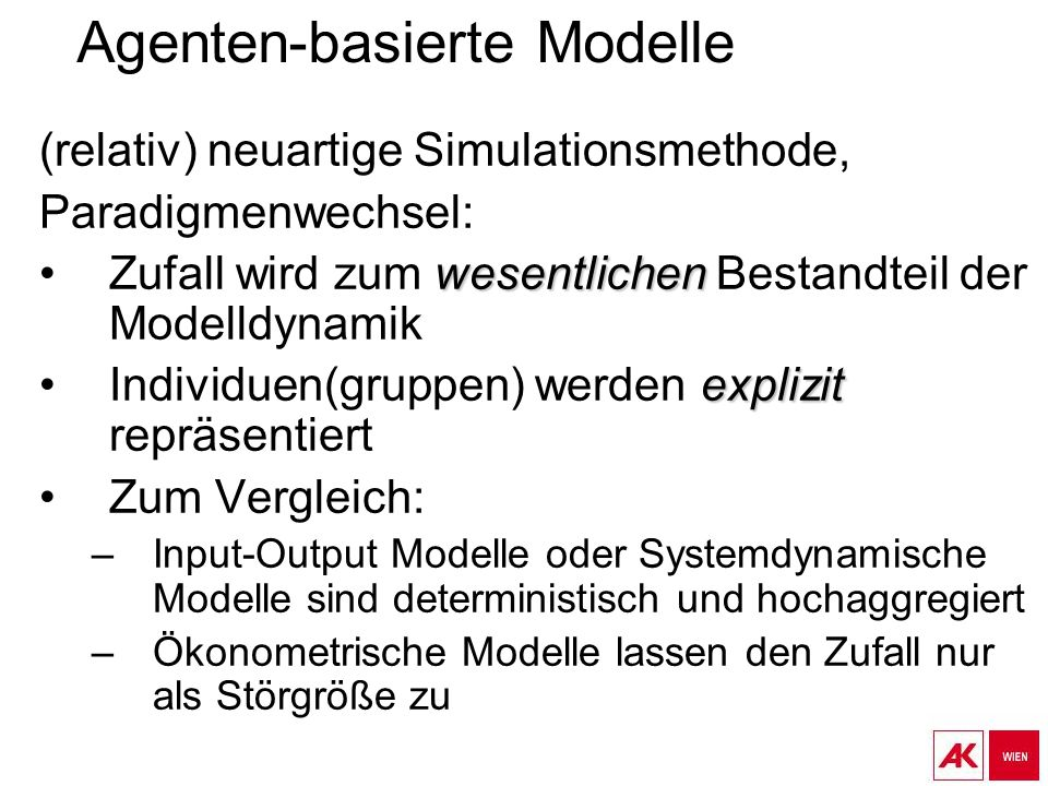 Agenten-basierte Modelle