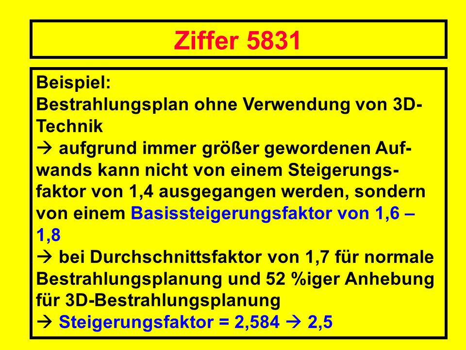 Ziffer 5831