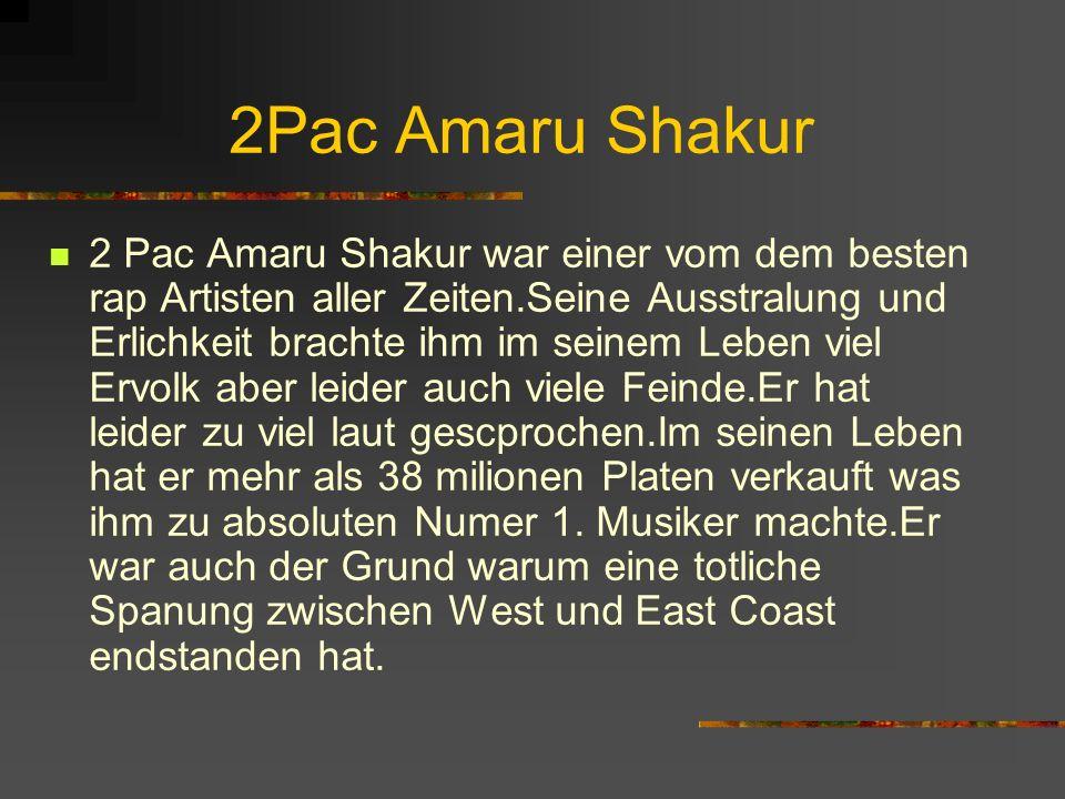 2Pac Amaru Shakur