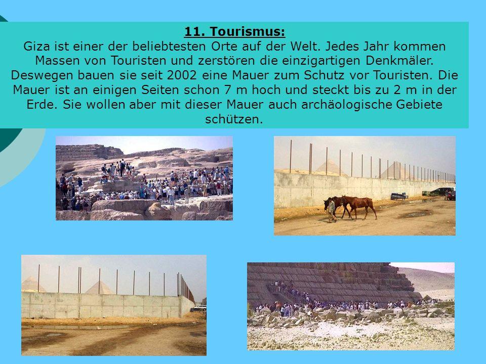 11. Tourismus: