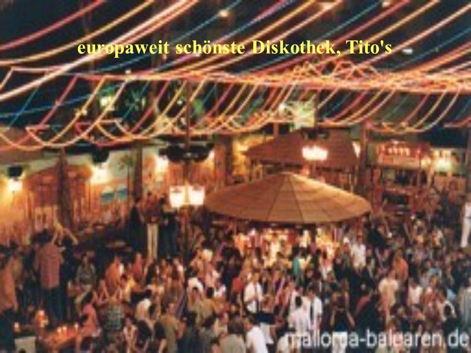 europaweit schönste Diskothek, Tito s