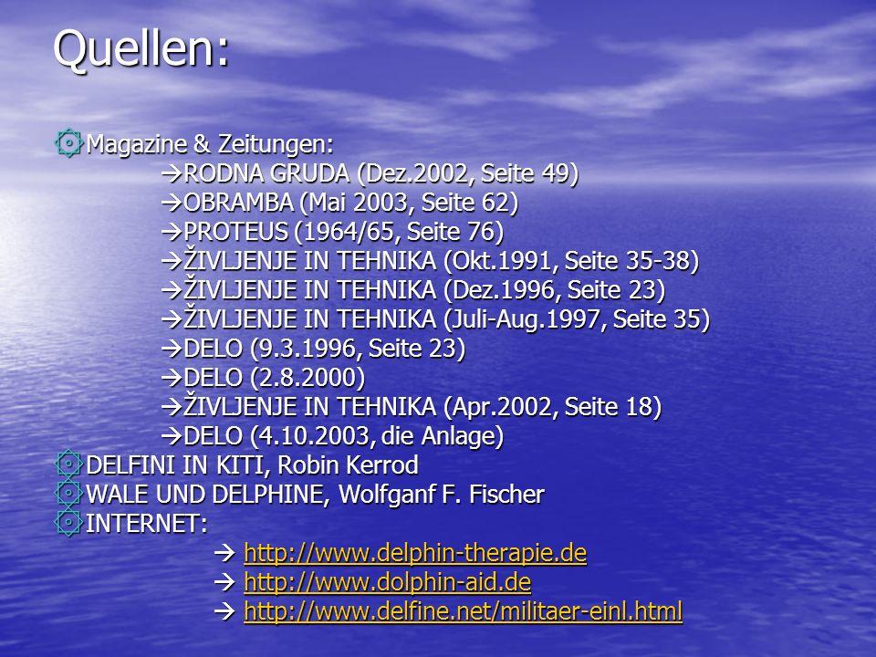 Quellen: Magazine & Zeitungen: RODNA GRUDA (Dez.2002, Seite 49)