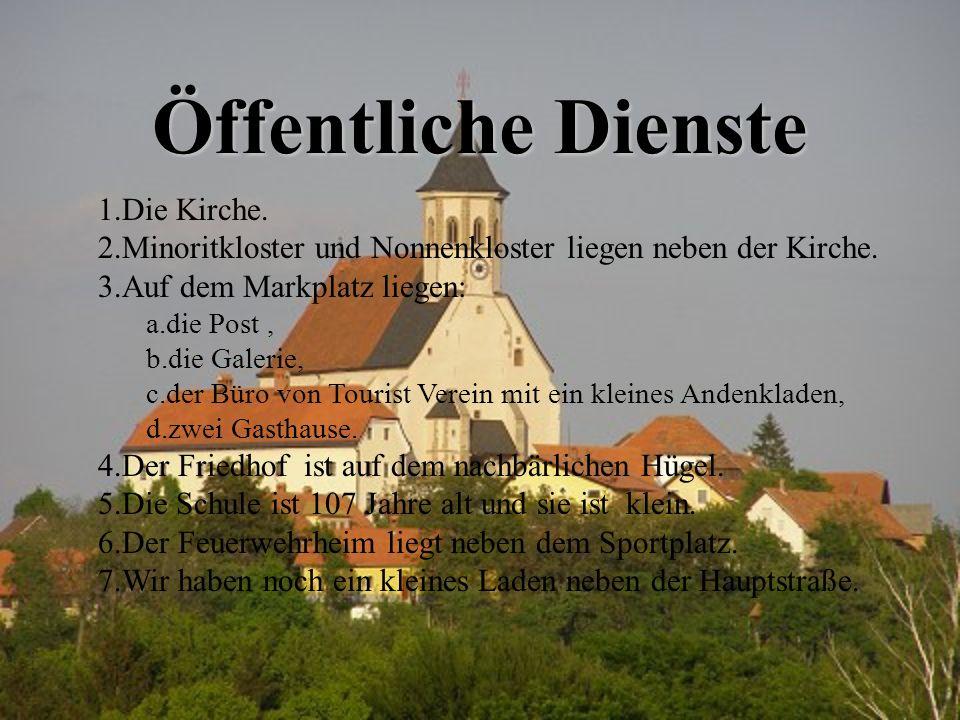 Öffentliche Dienste Die Kirche.