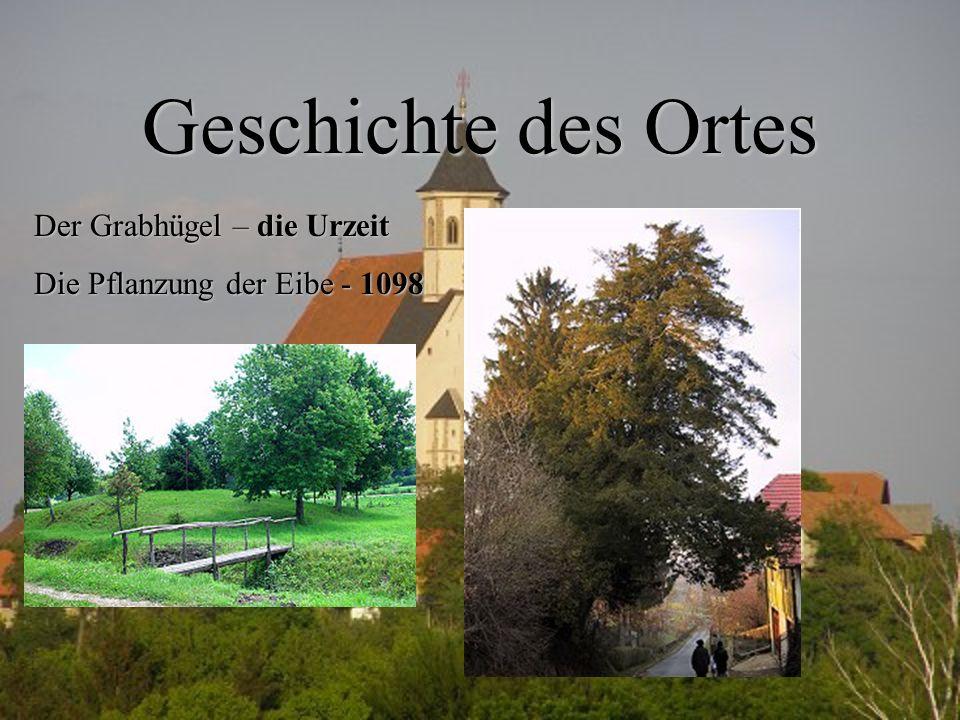 Geschichte des Ortes Der Grabhügel – die Urzeit