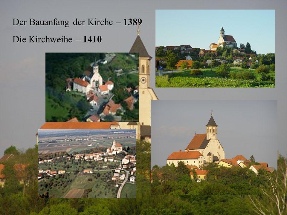 Der Bauanfang der Kirche – 1389