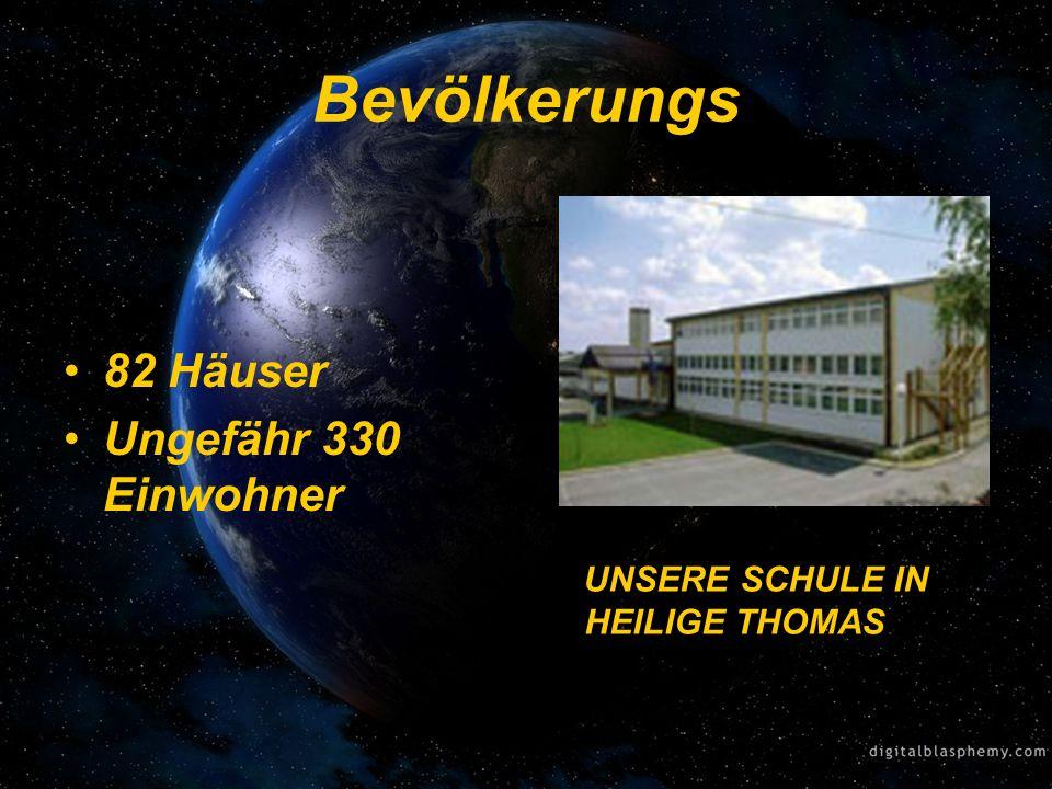 Bevölkerungs 82 Häuser Ungefähr 330 Einwohner