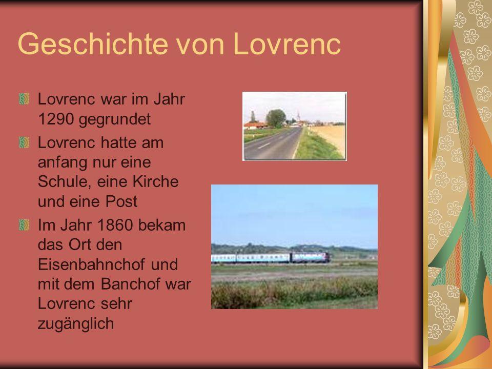 Geschichte von Lovrenc