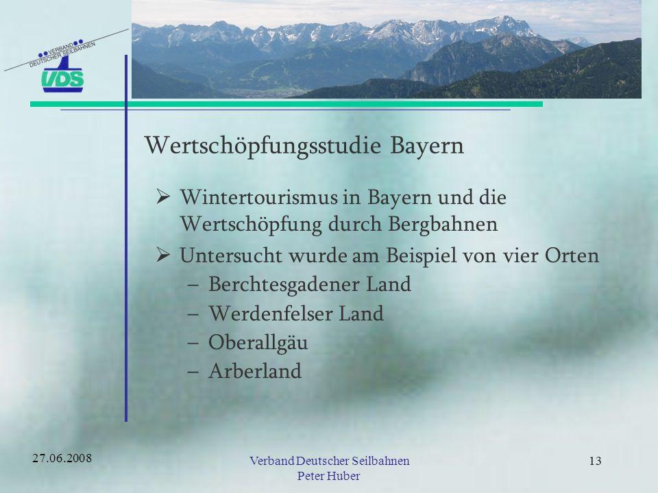 Wertschöpfungsstudie Bayern