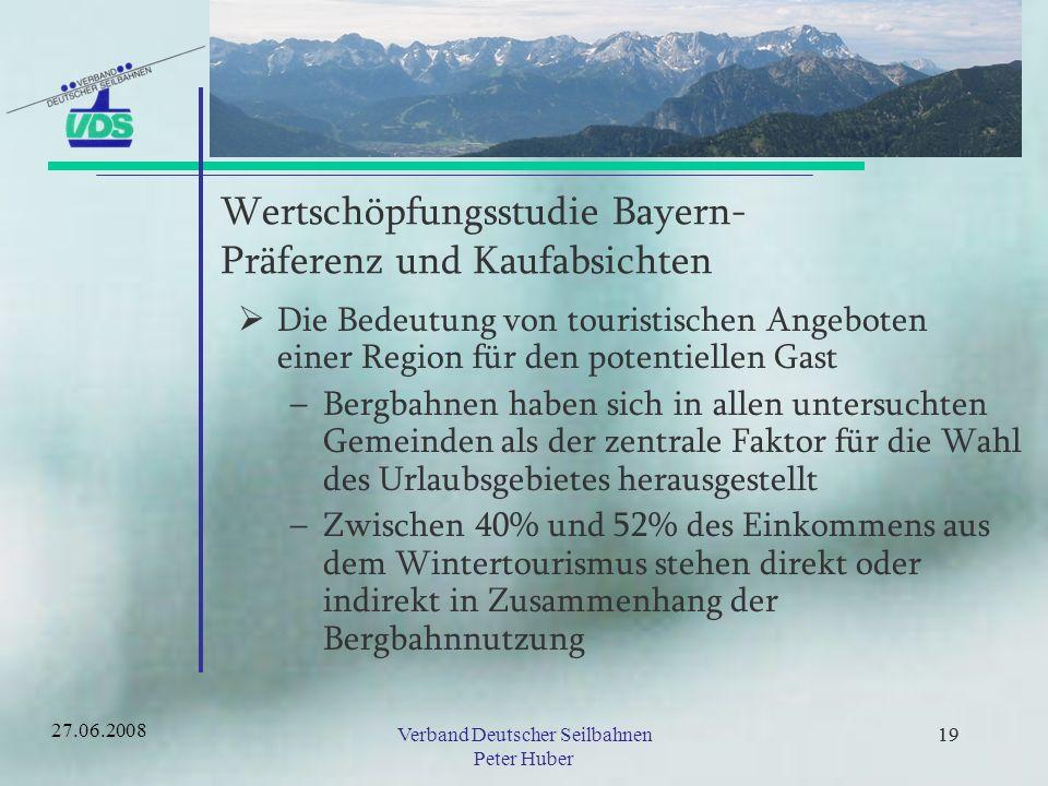 Wertschöpfungsstudie Bayern- Präferenz und Kaufabsichten