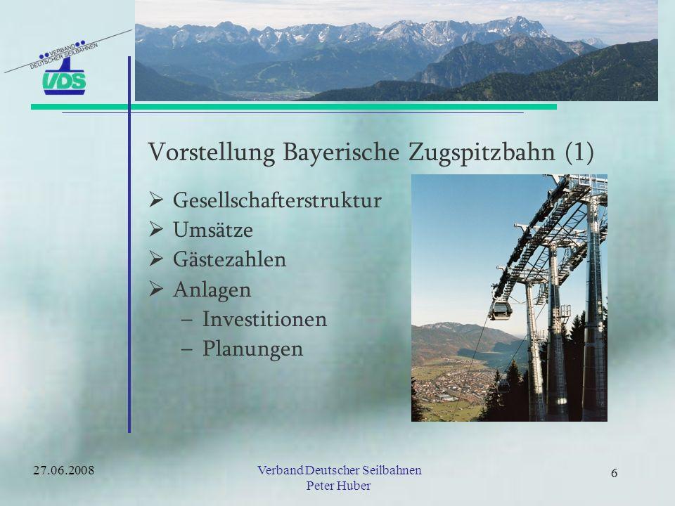 Vorstellung Bayerische Zugspitzbahn (1)