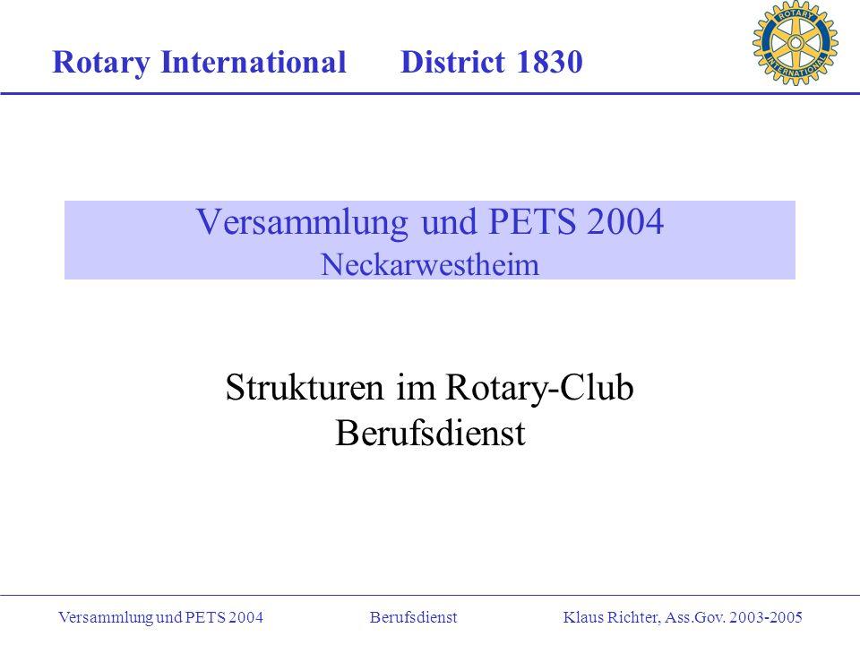 Versammlung und PETS 2004 Neckarwestheim