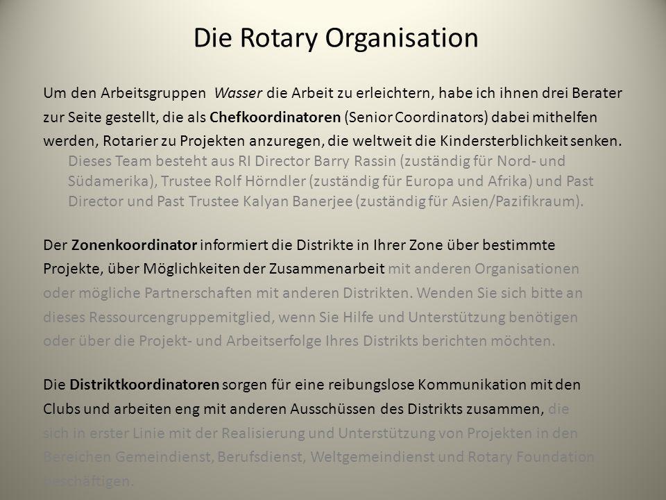 Die Rotary Organisation