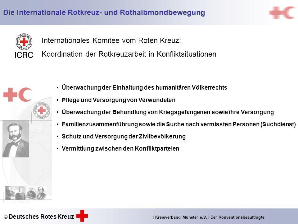 Die Internationale Rotkreuz- und Rothalbmondbewegung