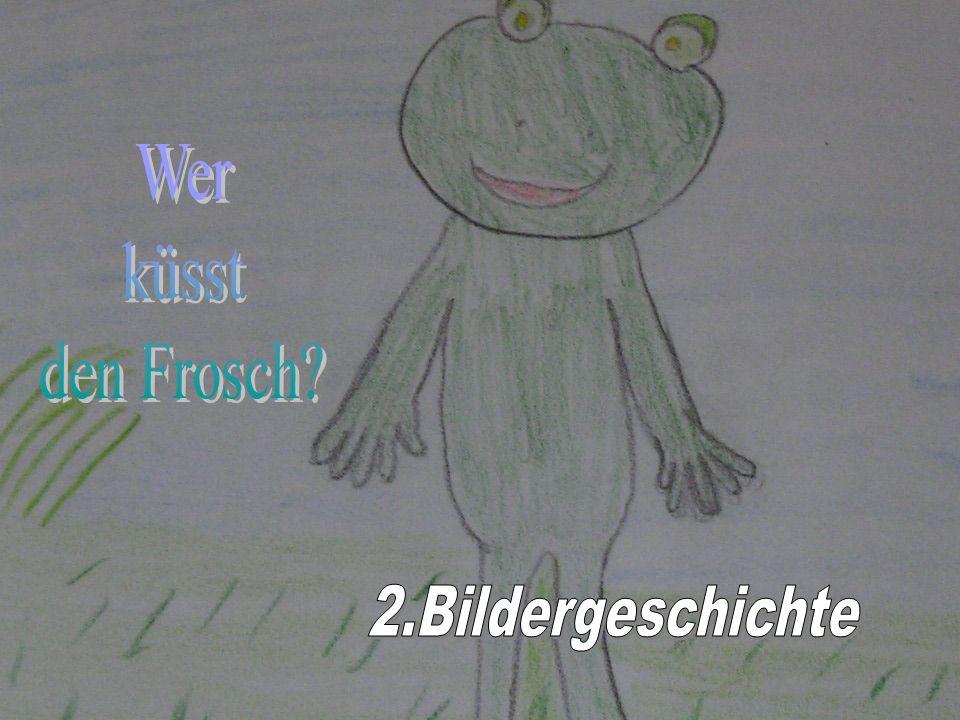 Wer küsst den Frosch 2.Bildergeschichte