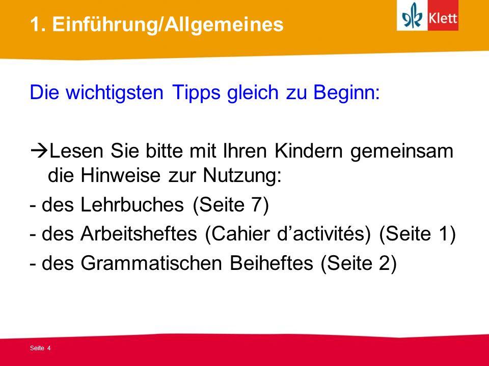 1. Einführung/Allgemeines