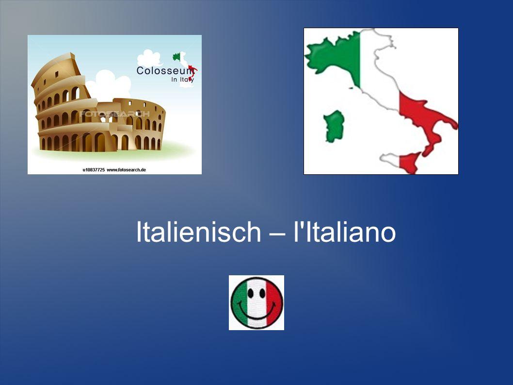 Italienisch – l Italiano