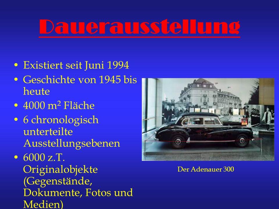 Dauerausstellung Existiert seit Juni 1994