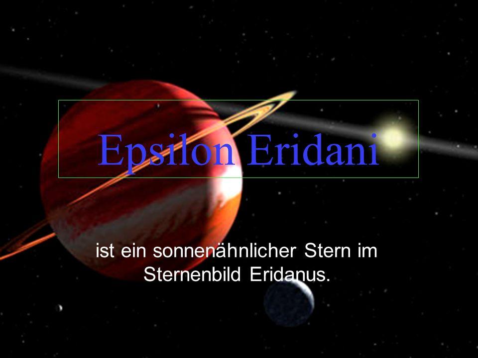 ist ein sonnenähnlicher Stern im Sternenbild Eridanus.