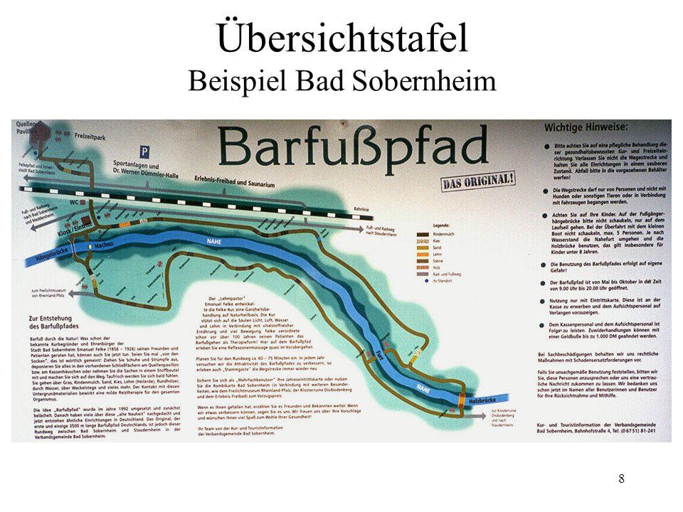 Übersichtstafel Beispiel Bad Sobernheim